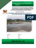 Informe Final Mantenimiento Camino Vecinal Ocopa - Tuco