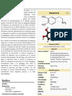 Dopamina - Wikipedia, La Enciclopedia Libre