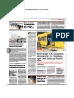 Publicaciones Periodísticas en Los Diarios Año 2019