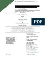 2019-06-18 - Oracle Ecf 89 - [Redacted] Doj Mjar
