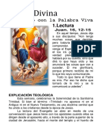 Lectio Divina Santa Trinidad