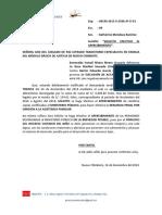 Apercibimiento Segunda Liquidacion (Prima)
