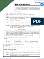 Practical Physics IIT