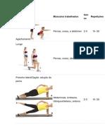 Exercícios Zancada