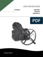 Limitorque - L120-85 Actuator