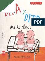 Para La Visita Al Médico Dita y Dito Van Al Medico