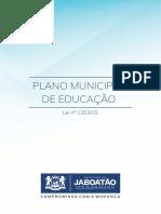10 Plano Municipal de Educacao Lei 1203 15 Lei 626 11