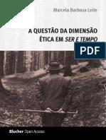 Marcela Barbosa Leite - A Dimensão Da Questão Ética Em Ser e Tempo