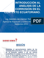 Corrosion contexto ECU