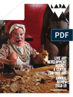 Live Art Development Agency's Annual review 2018/19