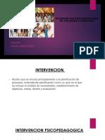 Intervencion Psicopedagogica Procesos Cognitivos Oficial