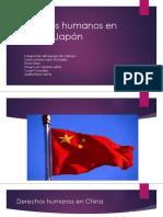 Derechos Humanos en China y Japón Juliana