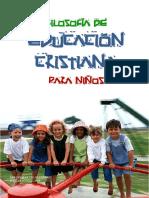 Filosofía de Educación Cristiana para Niños