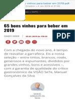 Visão 65 Bons Vinhos Para Beber Em 2019