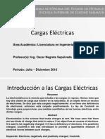ONS Cargas Electricas Interaccion de La Materia y Energia