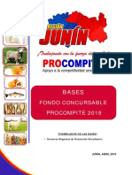 Bases Fondo Consursable PROCOMPITE 2019