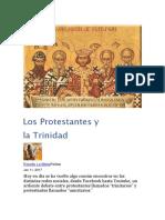 Los protestantes y la trinidad