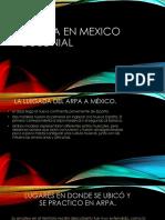 EL ARPA EN MEXICO COLONIAL.pptx