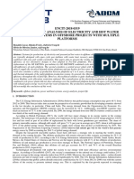 Lifetime Exergy Analysis of Electricity and Hot Water Production Systems in Offshore Projects with Multiple Platforms