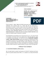 Demanda Inicial vs Telesforo Romero Lopez.doc