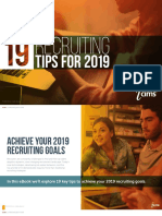 19 Recruiting Tips for 2019