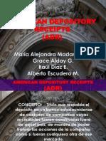 ADRs (Trabajo Derecho Comercial)