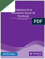 Estatutos Asociación Scout de Honduras