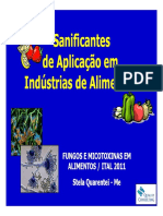 Sanificantes Aplicacao Industrias Alimentos