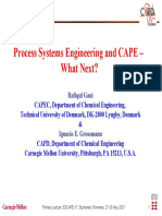 brief introduction of Process Systems Engineering