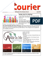 July 2019 Courier