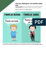 Reglas de Crianza Que Distinguen Una Familia Sabia de Una Familia Buena