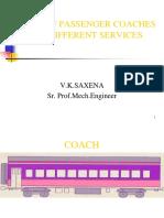 Types of Passenger CoaDifferent Services- V