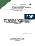 ASC en Tranferencia de Tecnologia