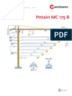 Grua Potain MC175B