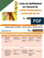 1.Curso de Facilitadores Círculos de Paz - Curso Aberto 2017