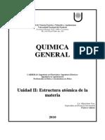 Unidad IIEstructuraAtomica