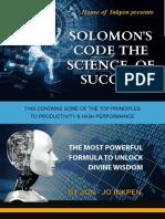 Solomons Code Science of Success eBook Final Design 3