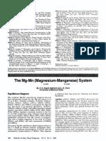 Nayeb Hashemi Clark1985 Article TheMgMnMagnesium ManganeseSyst