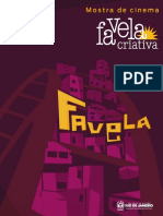 Catálogo Favela Criativa