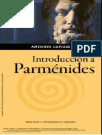 Capizzi, A. - Introducción a Parménides