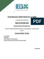 Constancia de Capacitación en La Tarea-Anexo 5