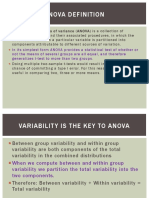 4.3 ANOVA and Regression