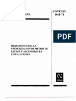 COVENIN 1018-78