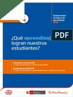 Informe Nacional ECE 2018