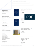 Tratado de Psiquiatra Ey - Libros en Mercado Libre Argentina