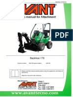 Operatorsmanual Backhoe 170 a33748 2012 1