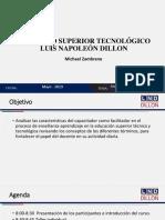 Análisis maestro, instructor y facilitador FORMATO PPT ISTLND DILLON.pptx