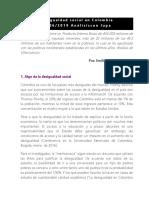 Desigualdad Social en Colombia
