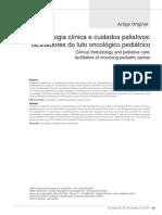 Art.tanatologia Clínica e Cuidados Paliativos