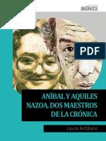 Aníbal y Aquiles Nazoa, Dos Maestros de La Crónica - Laura Antillano